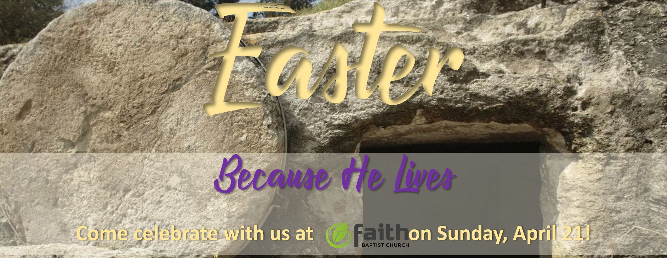 Because He Lives - Easter Sunday
